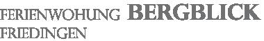 FERIENWOHNUNG BERGBLICK Logo